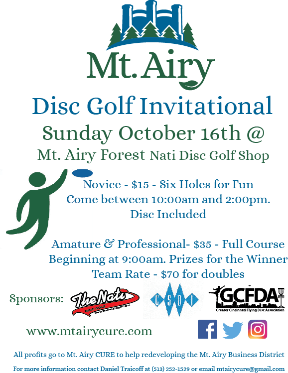 mt. airy disc golf invitational